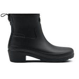 **BNIB** HUNTER Refined Low Heel Ankle Rain Boot